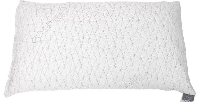coop home goods adjustable shredded memory foam pillow review lots of pillows. Black Bedroom Furniture Sets. Home Design Ideas