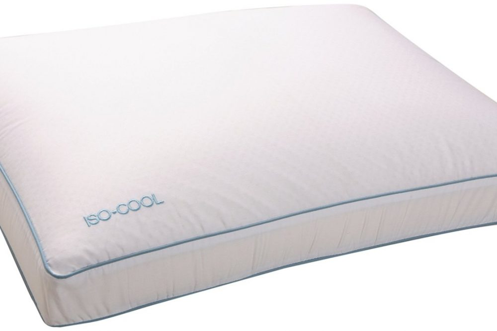 Iso Cool Memory Foam Pillow Gusseted Side Sleeper By