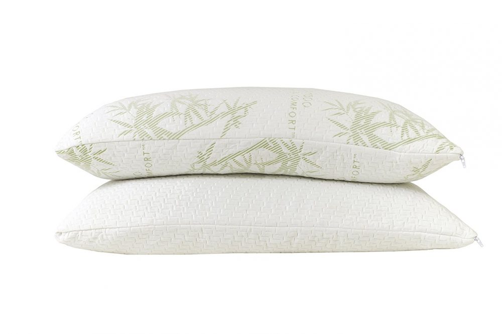 Original hotel comfort bamboo memory foam pillow lots of for Comfort inn pillows to purchase