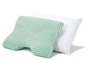 ISOCOOL Memory Foam Pillow Gusseted Side Sleeper by SleepBetter